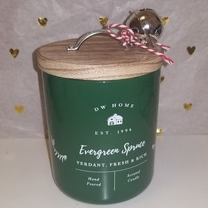 Brand new DW HOME Evergreen Spruce scented candle
